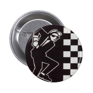 ska skanking guy pinback button