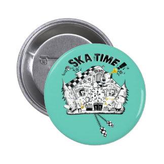 Ska Time Cuckoo Clock Button