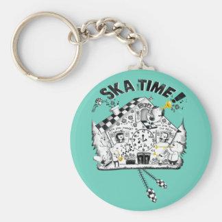 Ska Time Cuckoo Clock Keychains
