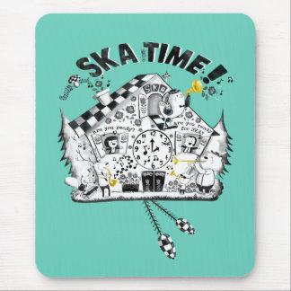 Ska Time Cuckoo Clock Mouse Pad