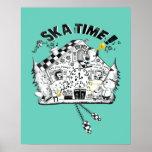 Ska Time Cuckoo Clock Poster