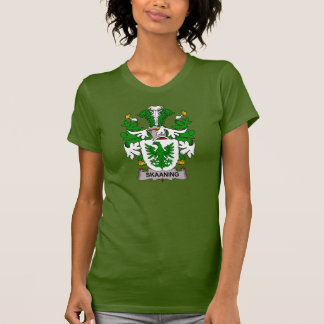 Skaaning Family Crest T-shirts