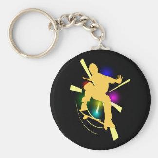 Skaeboarder Keychain