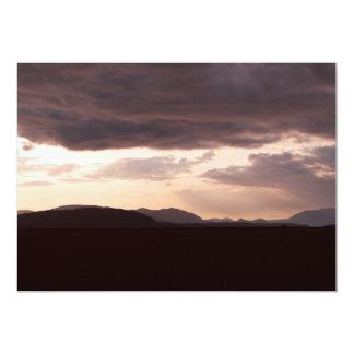 Skagit Storm Clouds 5x7 Paper Invitation Card