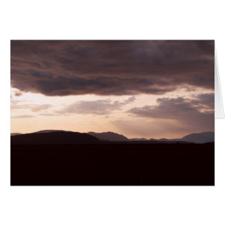 Skagit Storm Clouds Card