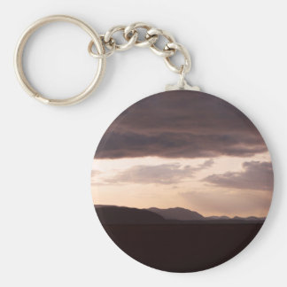Skagit Storm Clouds Keychain