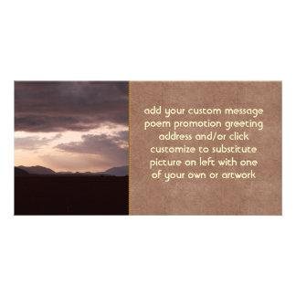 Skagit Storm Clouds Photo Card