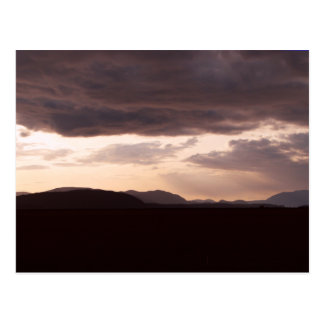 Skagit Storm Clouds Postcard