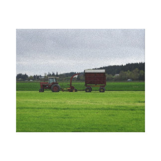 Skagit Valley Farming Canvas Print