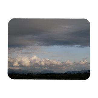 Skagit Valley View Rectangular Photo Magnet