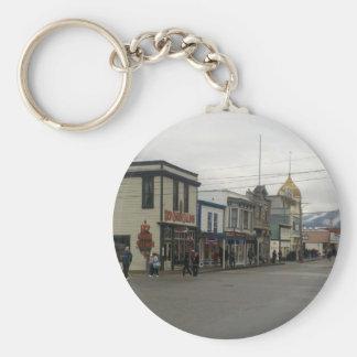 Skagway, Alaska Basic Round Button Keychain