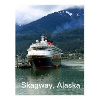Skagway, Alaska Tarjeta Postal