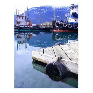 Skagway, tirones de Alaska Postales