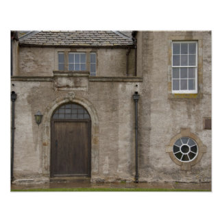 Skaill House, 17th century mansion in Orkney Poster