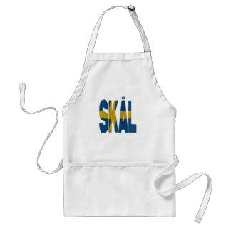 Skål cheers - Swedish Adult Apron