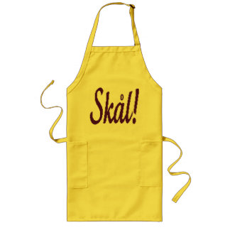 Skal Norwegian Cheers Barbeque Apron