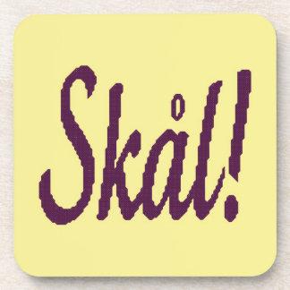 Skal! Norwegian Cheers Coasters