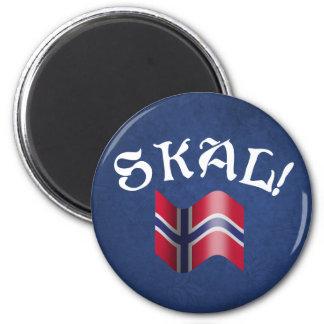 Skal! Norwegian Refrigerator Magnet