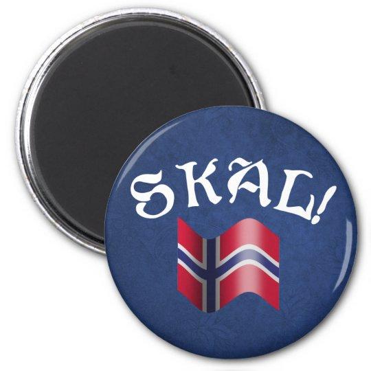 Skal! Norwegian Magnet