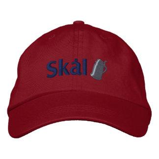 Skal! Scandinavian Drinking Toast Embroidered Baseball Hat