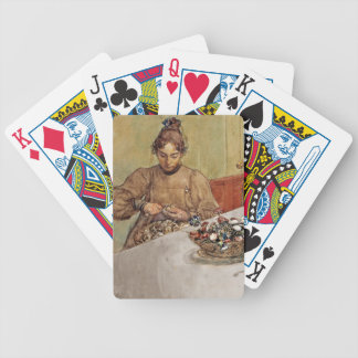 Skalande Applen peeling apples Bicycle Playing Cards