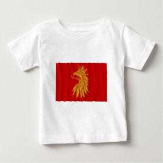 Skåne län waving flag t shirts