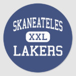 Skaneateles - Lakers - altos - Skaneateles Nueva Etiquetas Redondas
