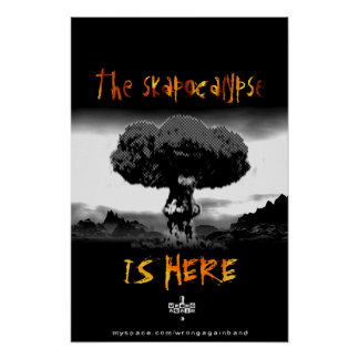 Skapocalypse is Here Poster