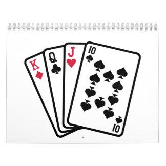 Skat cards calendar