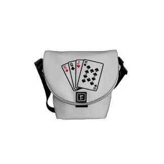 Skat cards courier bag