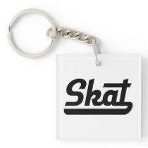 Skat Keychain