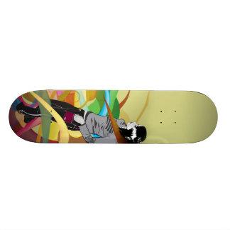 """Skate """"abstract Girl """" Skateboard Deck"""