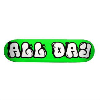 Skate All Day Skate Board Deck