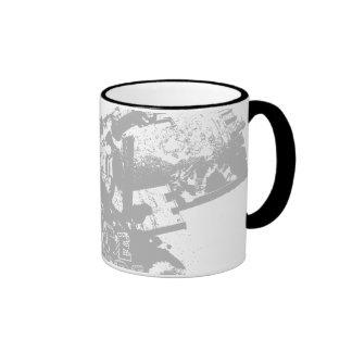 Skate Attitude 02 Ringer Coffee Mug