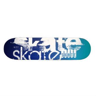 Skate; Blue Gradient Skateboard
