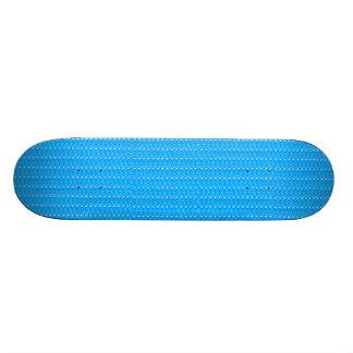 Skate Board Baby Blue Glitter