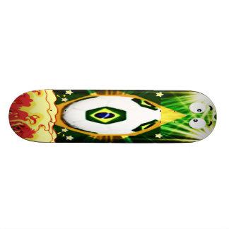Skate board brasil World cup soccer