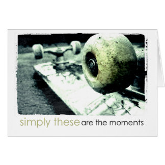 skate board phototgraphy card