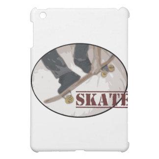 Skate Board Round iPad Mini Cases