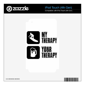 skate board therapy designs iPod touch 4G decals