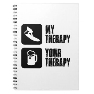 skate board therapy designs notebook