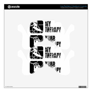 skate board therapy designs PS3 controller decal