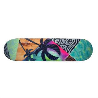 Skate board tropical