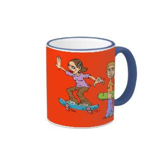 Skate Boarding Coffee Mug