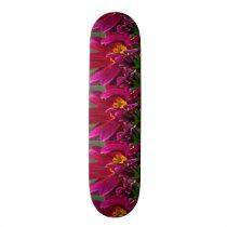 "Skate Borarding Deck Type: 7¾"" FLOWERS BUDS"
