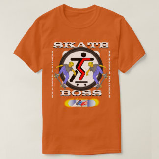 Skate Boss Skateboarding T-Shirt