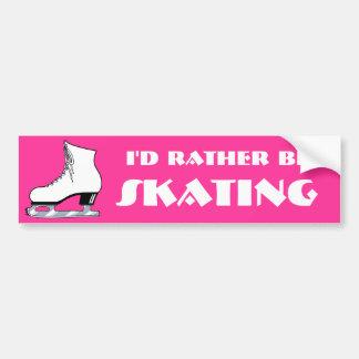 Skate Bumper Sticker
