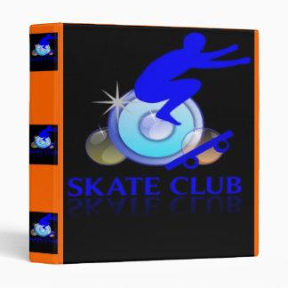SKATE CLUB BINDER