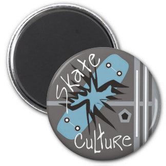 Skate Culture Refrigerator Magnet