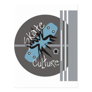 Skate Culture Postcard